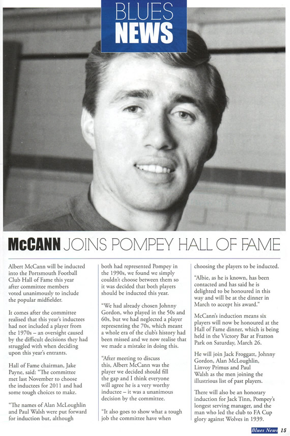 Extract from the Pompey Program