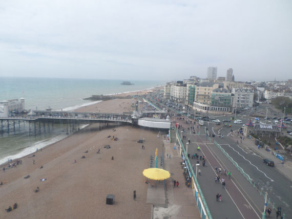 View from the Brighton Eye