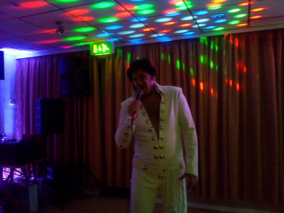Elvis Tribute Night with Mark Anthony