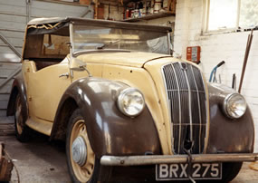 The Morris before Restoration
