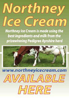 Norhney farm ice cream sold here